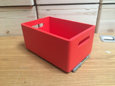 Red Colour Box 30cm Long, 20cm Wide and 13.5cm High